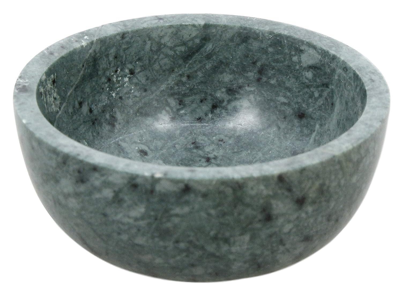 Shalinindia Handmade Jade Green MarbleServing Bowl,4 Inch,430 Grams ShalinCraft MN-SKBW003