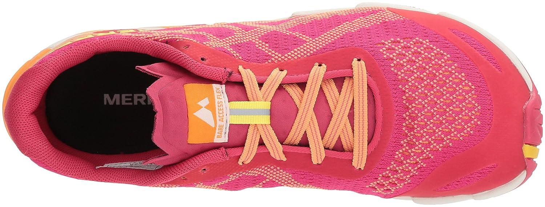 Merrell SS18 Bare Access Flex E-Mesh Damens's Trail Laufschuhe - SS18 Merrell Pink 147b7c