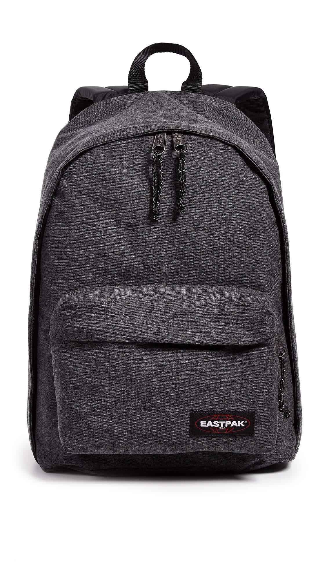 Eastpak Men's Out Of Office Backpack, Black Denim, One Size