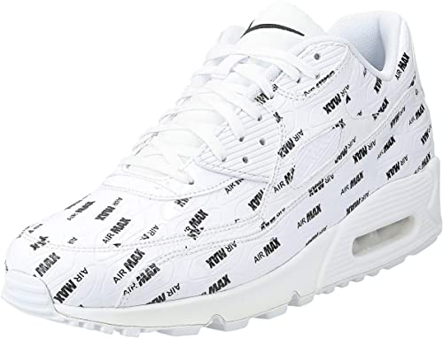 Nike Men's Air Max 90 Premium WhiteBlack 700155 103