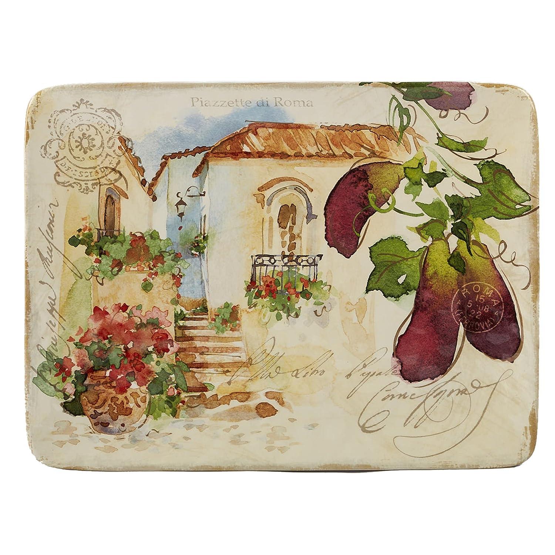 Certified International Piazzette Rectangular Platter 16,