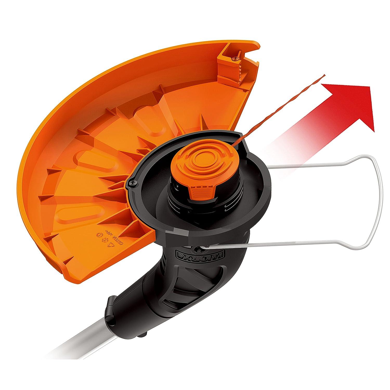WORX WG157E.9 Batería Negro, Metálico, Naranja cortabordes y ...