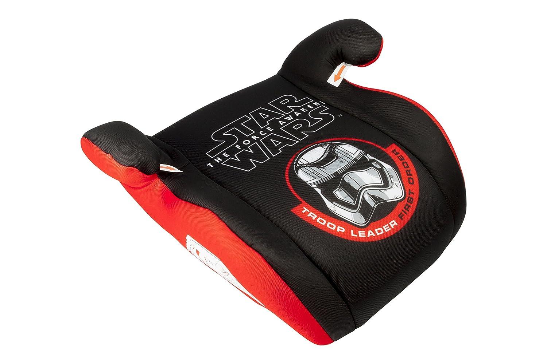 Sillita de coche Star Wars Booster (Niño pequeño) para niños, alzador - Rojo y negro - Edad 3+
