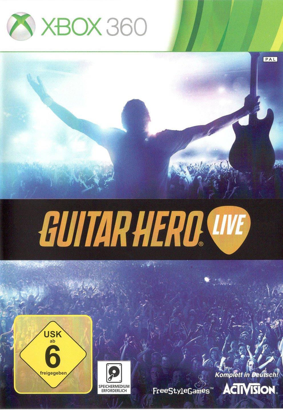 Guitar Hero - Live für XBOX 360: Amazon.es: Videojuegos