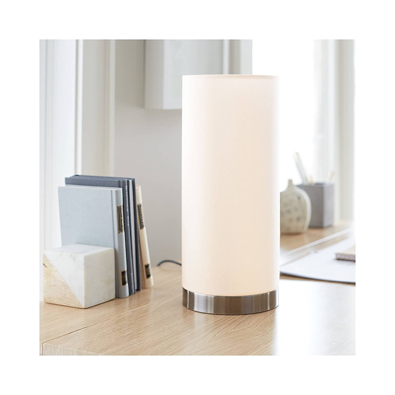 Smart Lighting Large Ambient Table Lamp Ara Collection Threshold