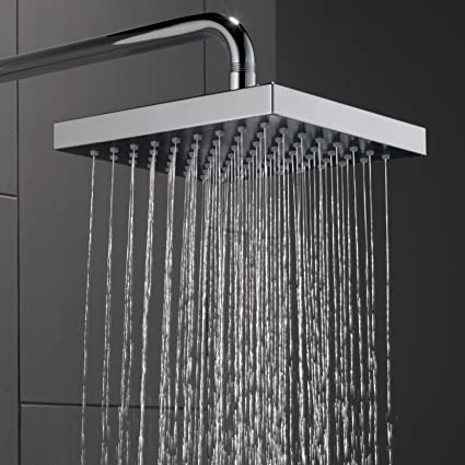 delta handheld dripping head rain with shower