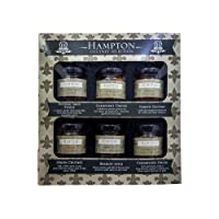 New! Hampton Chutney Selection, Potting Shed Pickle, Gardeners Choice, Tomato Chutney, Onion Chutney, Bramley Apple, Caramelised Onion Small Jars Gift Set