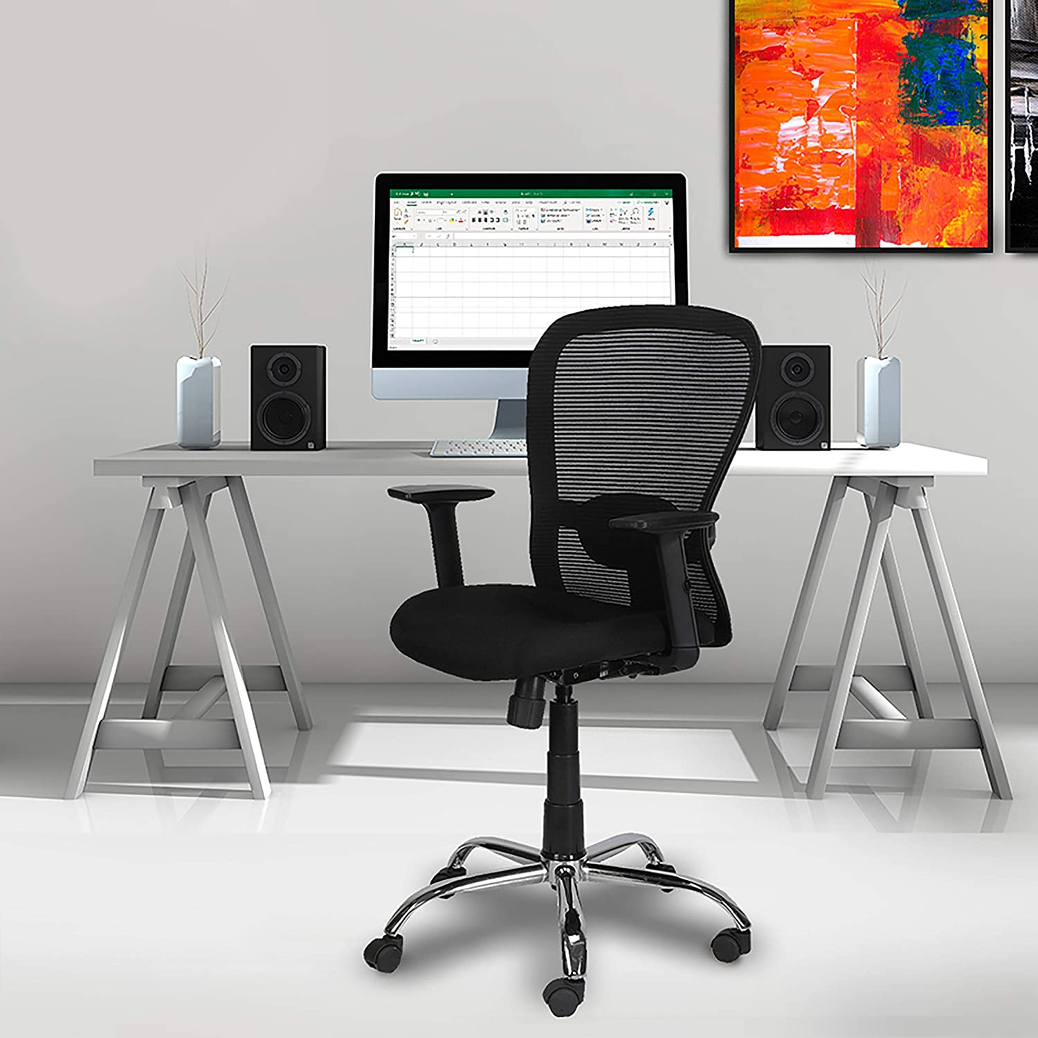 Green Soul Crystal Mid Ergonomic Chair for ₹6,990