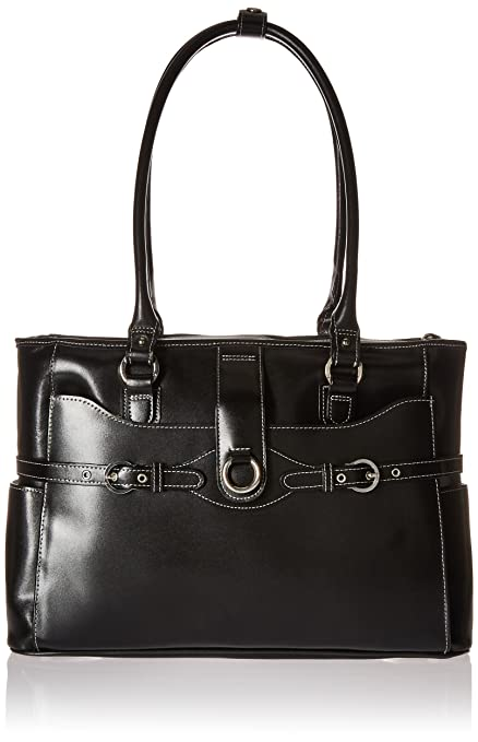 """24145222bb16f0 McKlein, W Series, Willow Springs, Top Grain Cowhide Leather, 15""""  Leather"""
