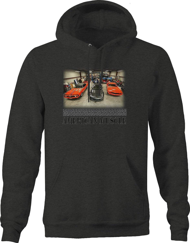 American Muscle Perfect Garage Vette Muscle Car SS Hotrod Racing Hoodie for Men