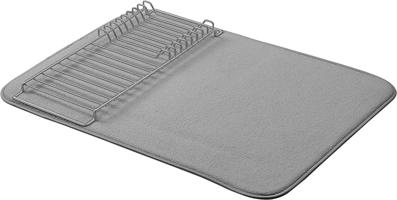 """AmazonBasics Drying Rack - 18""""x24"""" - Charcoal/Nickel"""
