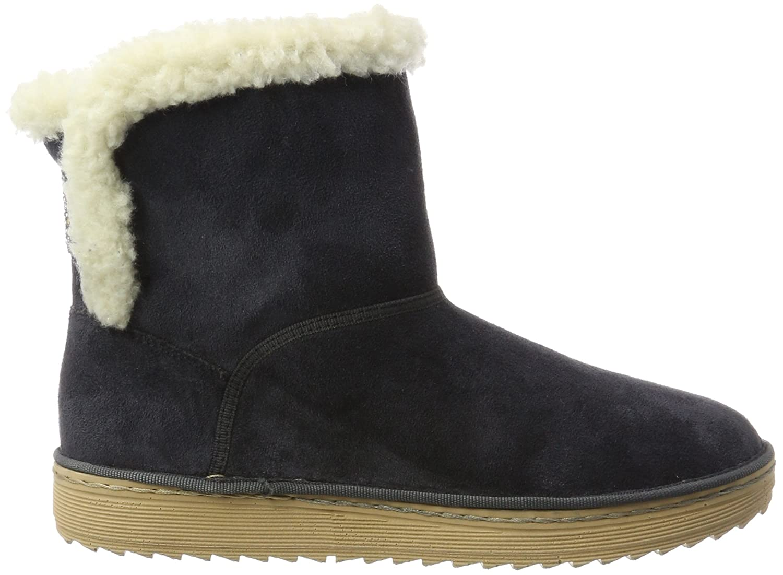 Womens Y7874 Slouch Boots, Blue, 3.5 UK Rieker