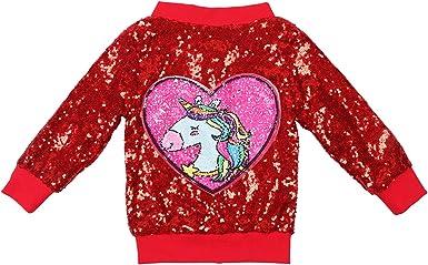 Size MEDIUM Lightweight Blue Ladies Jacket with Hearts and Unicorns