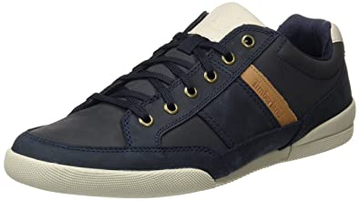 Mens Split Cupsole Mixed Mediablack Iris Saddleback Full Grain Oxford, Black Timberland