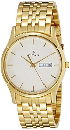 829b52a16 Buy Titan Karishma Analog White Dial Men's Watch -NK1636YM01 Online ...