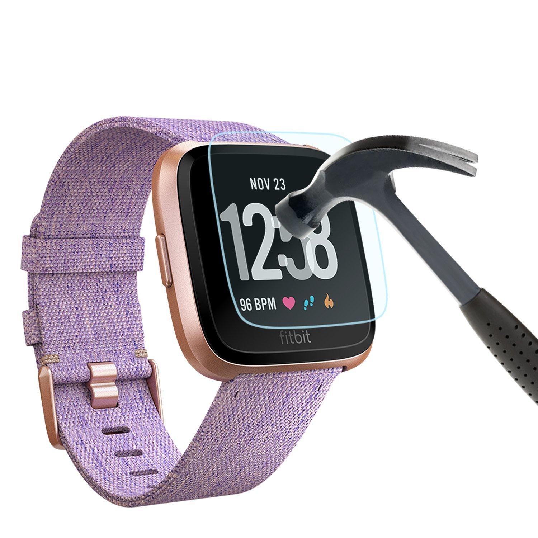 Amazon.com: Fitbit Versa Smart Watch, Black/Black