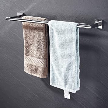 Amazon.com: Kes A2201 - Toallero de pared para baño (acero ...