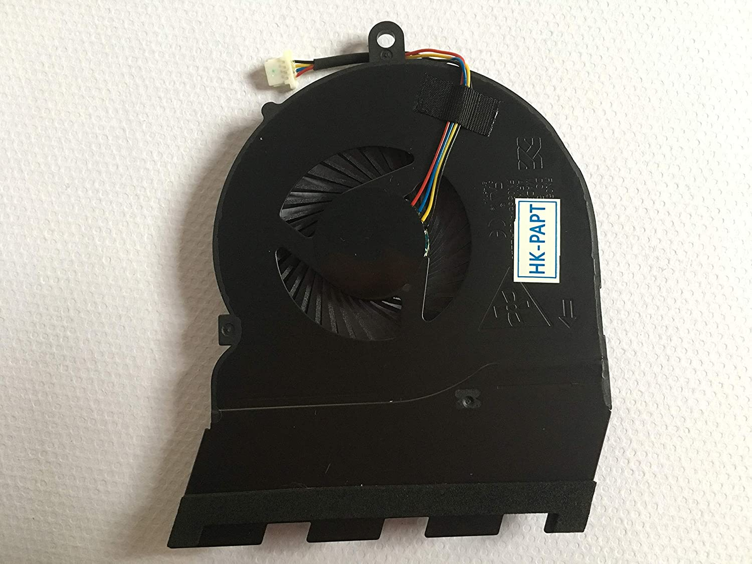 HK-Part Replacement for Dell Inspiron 15-5565 15-5567 17-5767 CPU Cooling Fan DP//N CN-0789DY 4-pins Connector