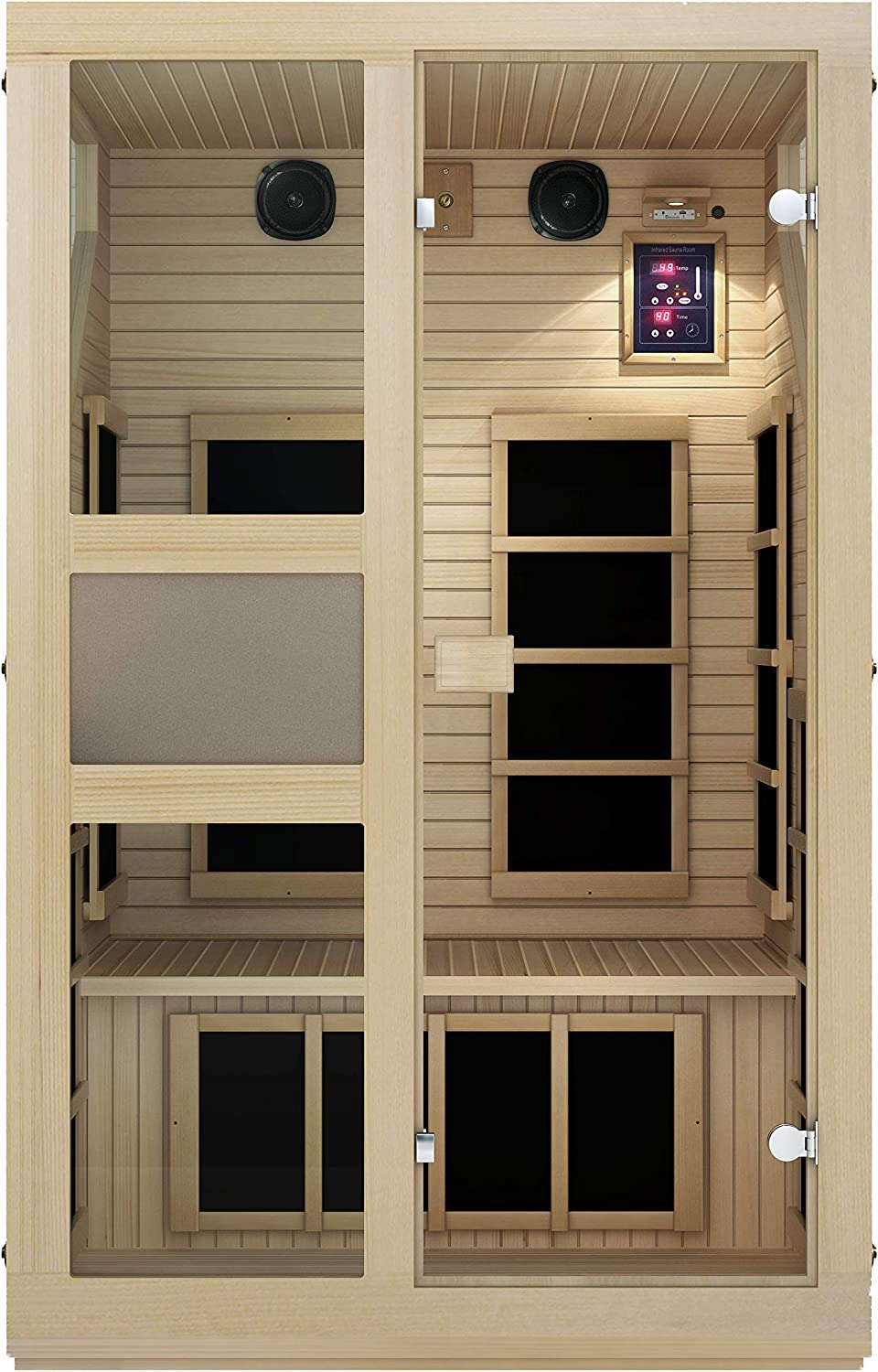 Best Infrared Sauna: JNH Lifestyles NE2HB1