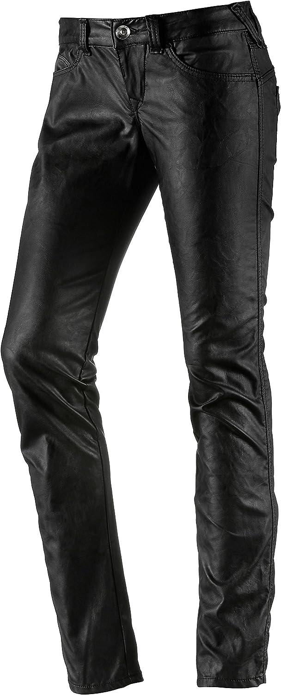 Fornarina Damen Skinny Jeanshose BIR1H35P25600 Schwarz