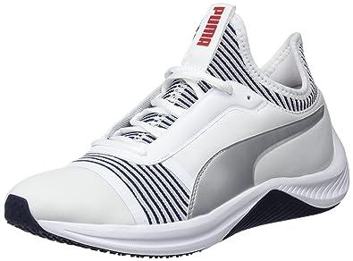 Puma Amp XT Wns, Zapatillas de Deporte para Mujer, Blanco White-Peacoat 02