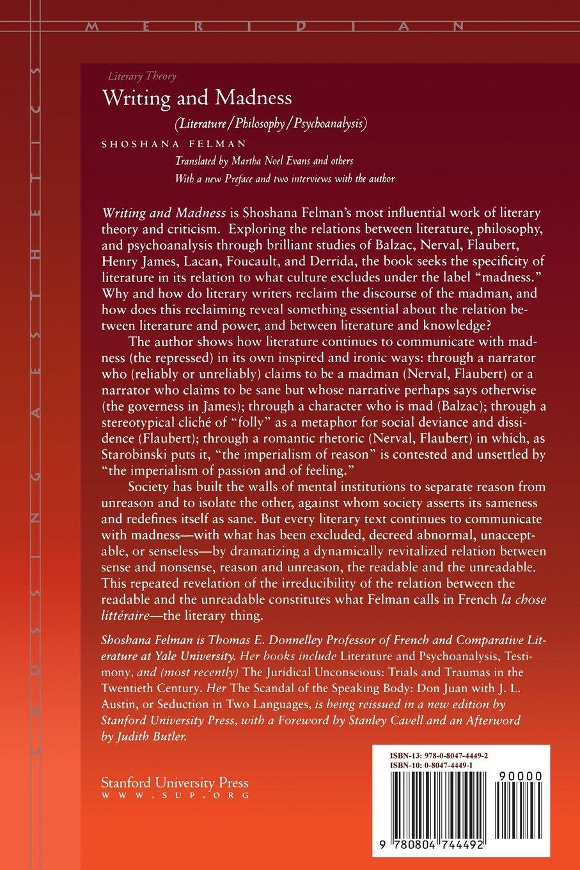 Writing and Madness (Literature/Philosophy/Psychoanalysis)