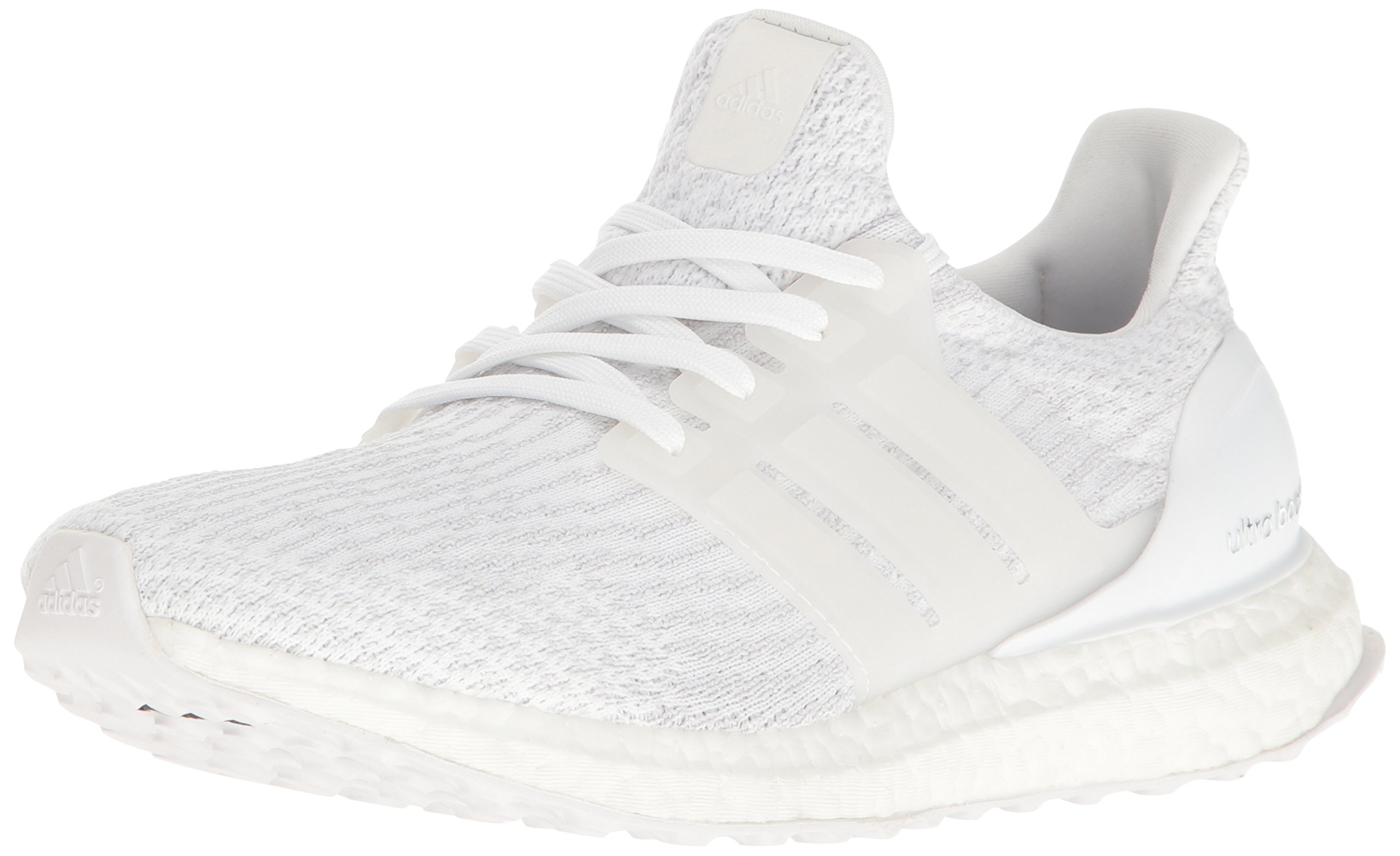 adidas Women's Ultraboost w Running Shoe, WhiteWhiteCrystal White, 8 M US