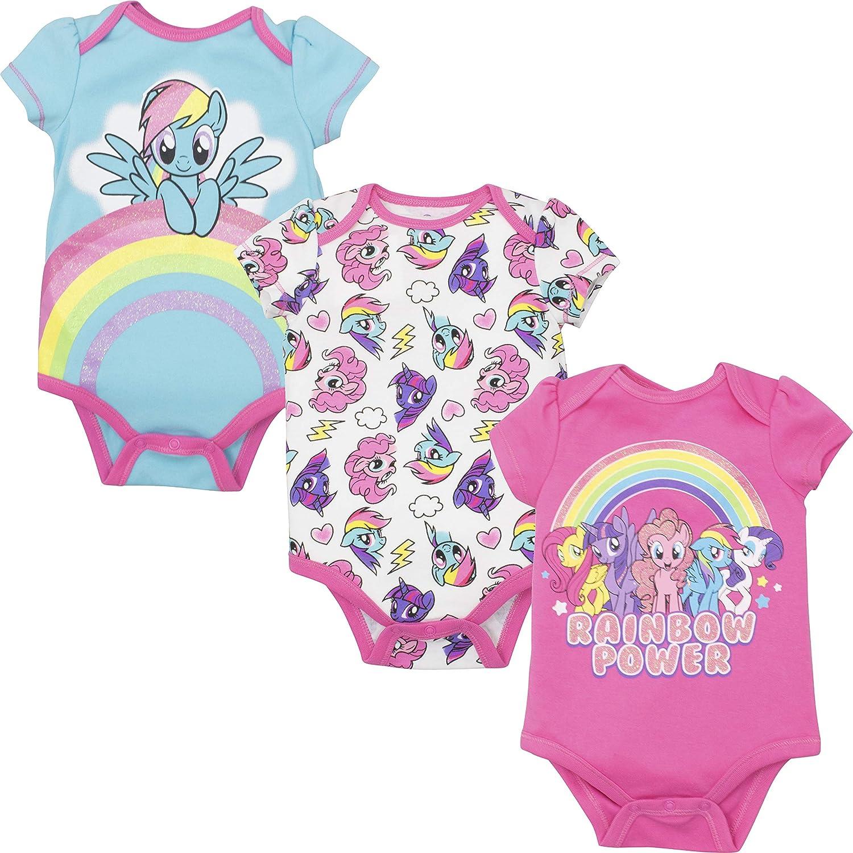 - Amazon.com: My Little Pony Rainbow Dash Baby Girls' 3-Pack Glitter