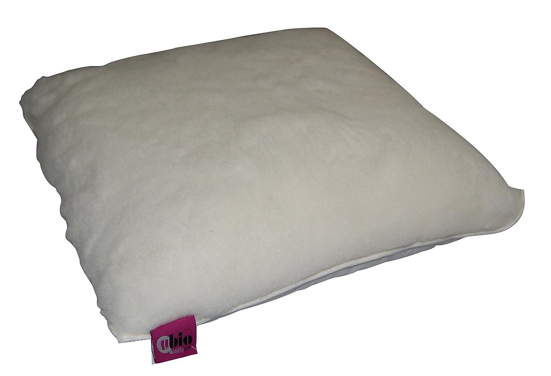 ubio cojín aseptisé cuadrado color blanco 44 x 44 cm: Amazon.es: Salud y cuidado personal