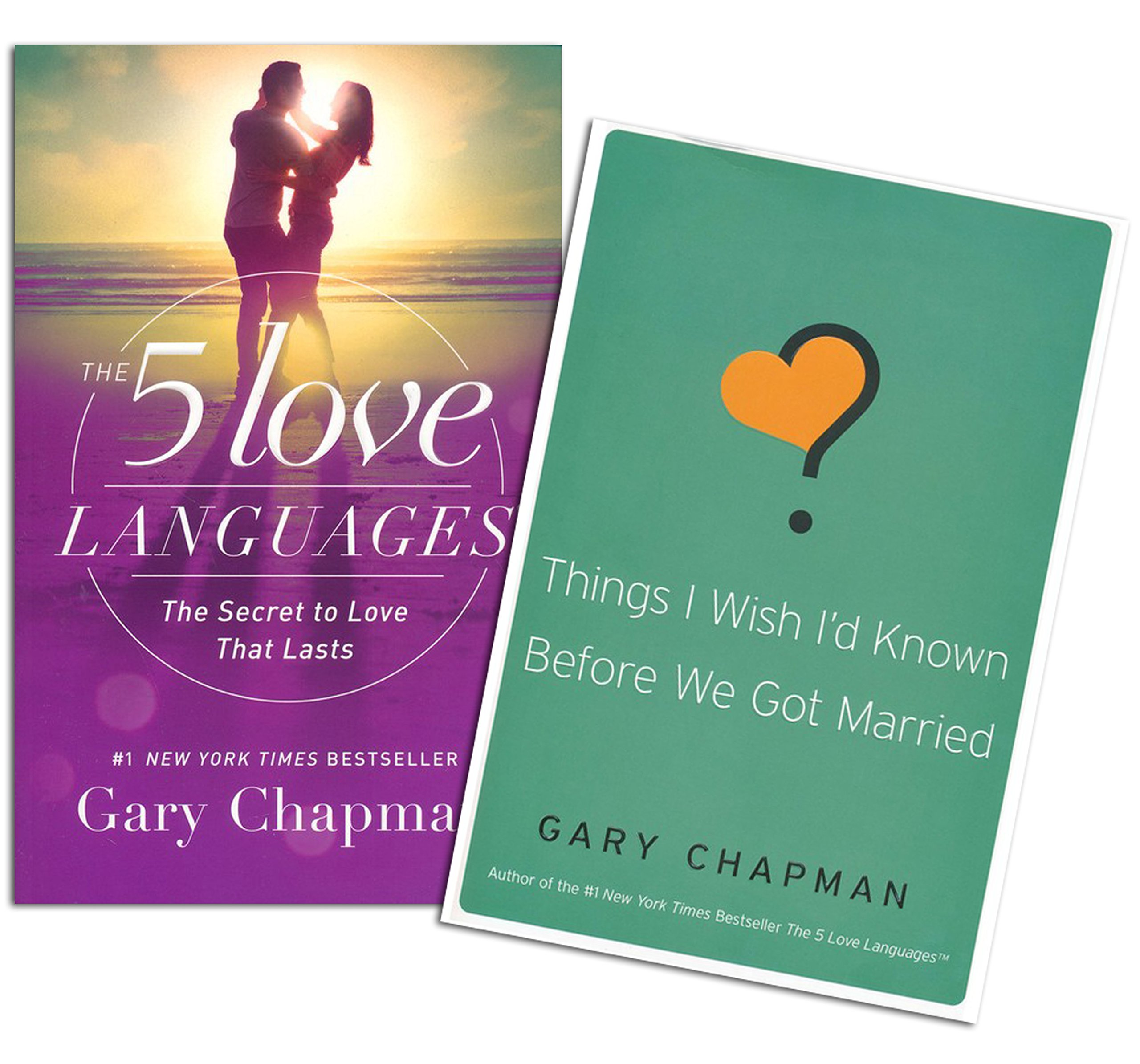 Gary Chapman - 5 Love Languages Set - The 5 Love Languages: The Secret to  Love That Lasts, Things I Wish I'd Known Before We Got Married: Gary  Chapman: ...
