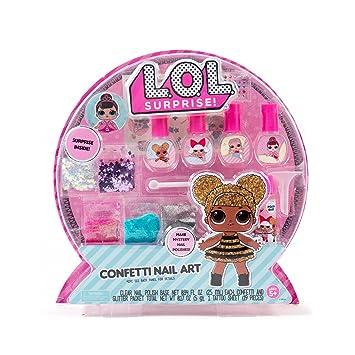 Amazon Com L O L Surprise Confetti Nail Art By Horizon Group Usa