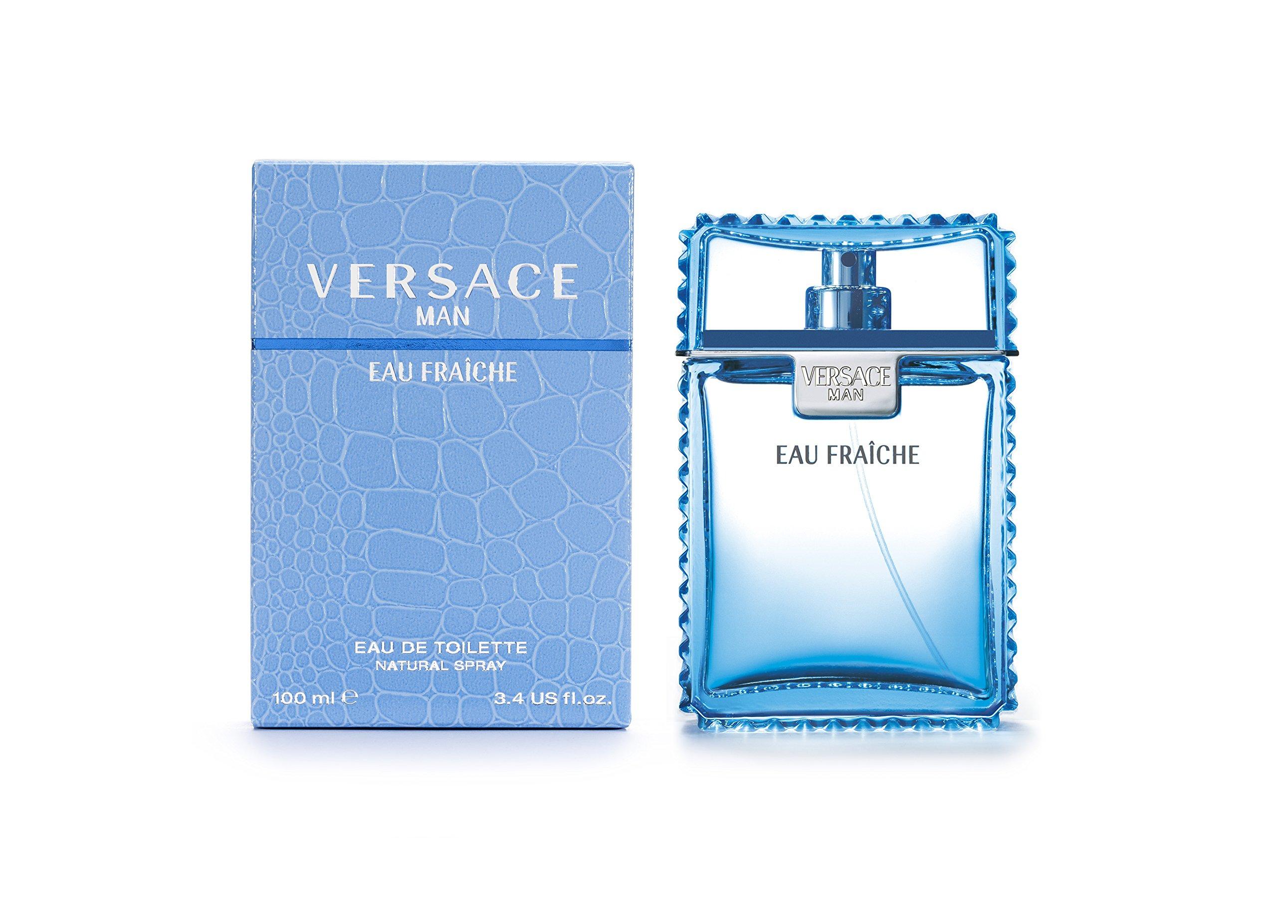 Versace Man Eau Fraiche By Gianni Versace For Men Edt Spray 3.4 Fl Oz by Versace