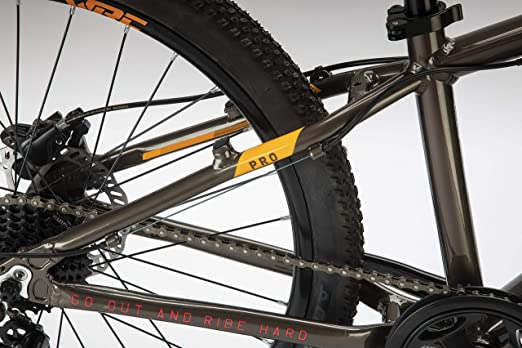 Bicicleta Conor WRC Pro Discs NEGRP/Naranja. Bicicleta Junior para Ocio Dos Ruedas. Bici para niños de 7 a 12 años Gama Alta. Bike para niñas. Ruedas 24 Pulgadas. Cambio de 8 velocidades.: