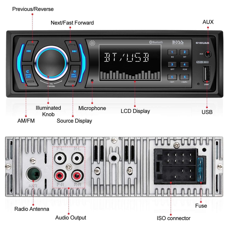 616UAB Multimedia Car Stereo