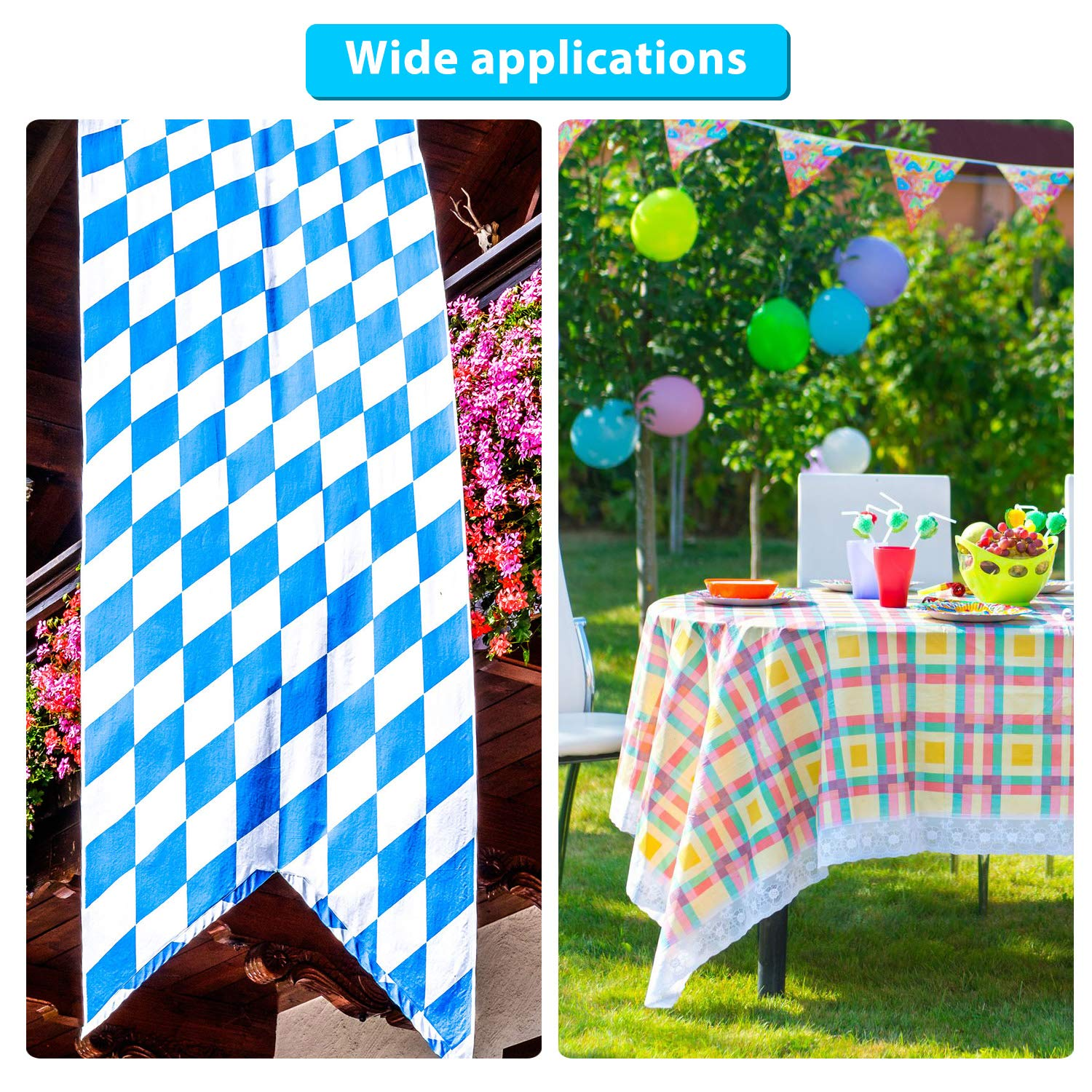 Tablecloth 20 Pieces Curtain Weights Bottom Drapery Lead Weights Covered Drapery Weights Fabric Curtain Weights for Curtains Flags