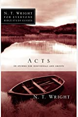 Acts (N. T. Wright for Everyone Bible Studies) Paperback