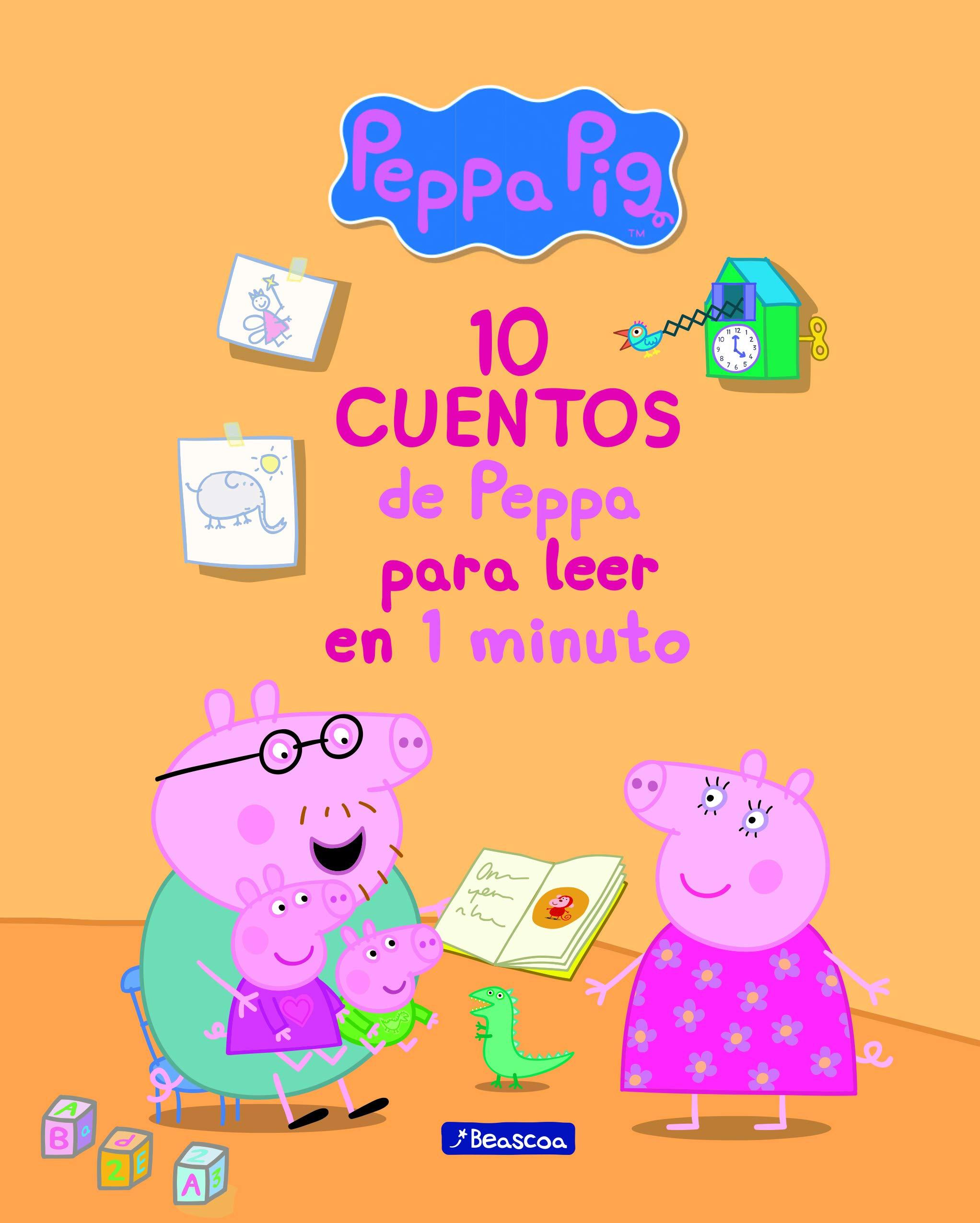 10 cuentos de Peppa para leer en 1 minuto Un cuento de Peppa Pig: Amazon.es: Varios autores, MAGELA RONDA;: Libros