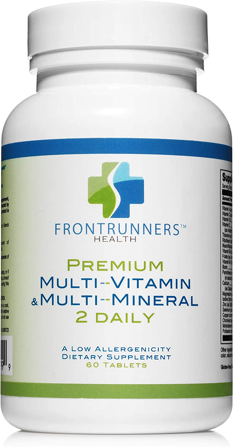 Daily Multivitamin with Folate and Astaxanthin. Professional Grade. With Lutein, Zeaxanthin and Lycopene for Eye Health 60 tablets