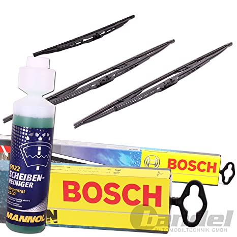 Bosch Twin 553 delantero + trasero Borrador H341 + Limpiador