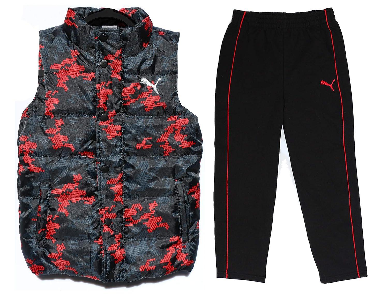 Puma Boy's Vest and Pants 2-Piece Set - Size Age 7