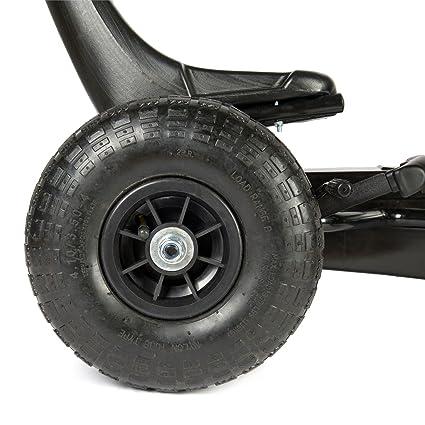 Bopster- Coche De Pedales Go-Kart con Ruedas Hinchables 5-8 Años- Llamas: Amazon.es: Juguetes y juegos
