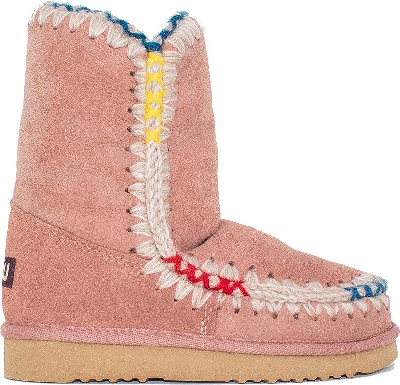 94f8e489b68 Amazon.com | Mou Women's Eskimo 24 Pop Color Overstitch Tall Boot ...