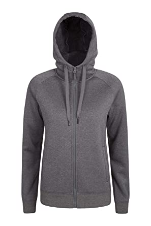 c2e681d6bc7a8a Mountain Warehouse Journey Full Zip Sherpa Lined Womens Hoodie - Antipill  Ladies Jacket