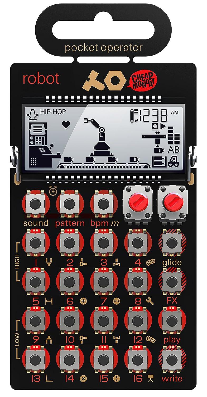 Teenage ENGINEERING po-28robot Pocket operatore sintetizzatore TE010AS028A