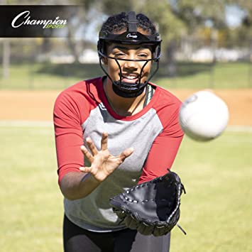 /638/ /I CHAMPION SPORTS M/áscara de Softball Fielders en Negro Youth/