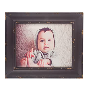Amazoncom Dii Rustic Farmhouse Distressed Wooden Picture Frame
