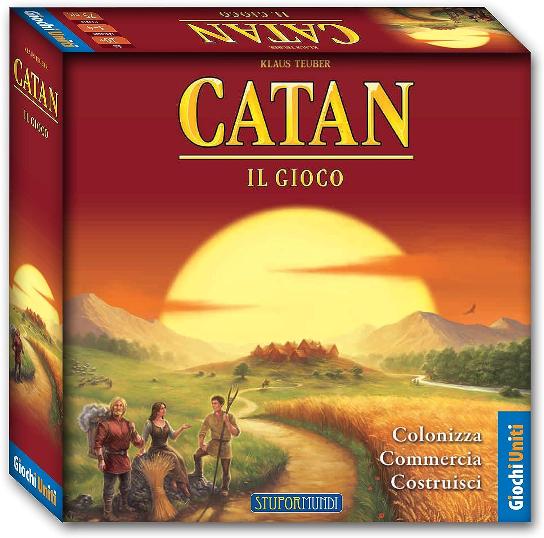 Giochi Uniti GU445 - Catan - Il Gioco [versión Italiana]: Amazon ...