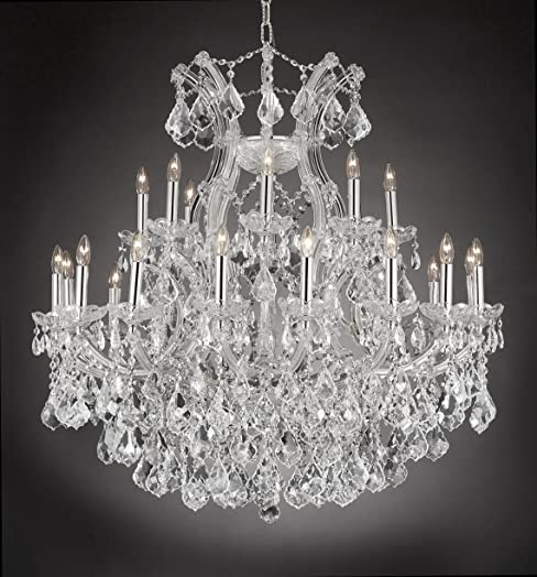 Maria Theresa Empress Crystal tm Chandelier Chandeliers Lighting H 36″ W 36″