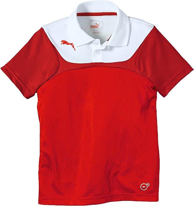 PUMA Kinder Polo Shirt ESITO 3 Leisure: : Bekleidung
