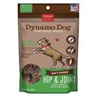 Cloud Star Dynamo Dog Hip & Joint, Functional Soft Chews with Glucosamine, Chondrotin...